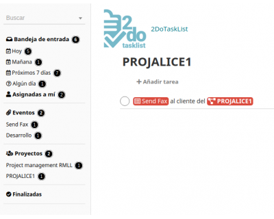 Módulo 2DoTaskList - Proyecto de Dolibarr