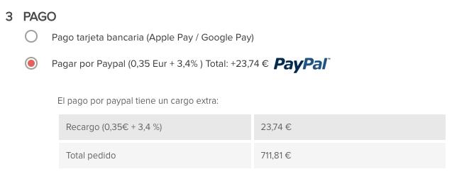 paypal pago